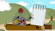Notepad and Joystick