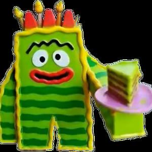 Marvelous Brobee Birthday Cake Gallery Object Towel Again Wiki Fandom Personalised Birthday Cards Bromeletsinfo