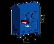 Mailbox laughing