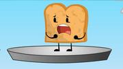 Toast crying