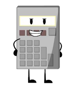 Calculator render no background