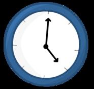 Blue Clock bodie
