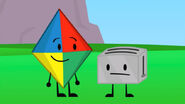 Kite and Toaster in pairs