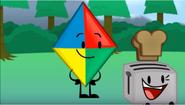 Kite-toaster