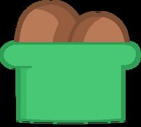 Chocolate ice cream body