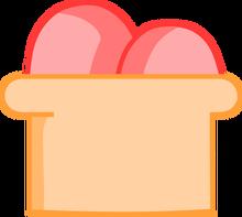 Strawberry ice cream body
