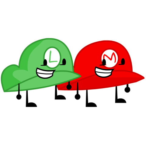 File:Mario and Luigi Hat.png