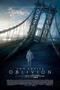 Oblivion theatrical poster 5