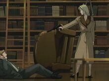 Eva confronts Christof