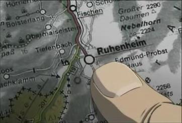 Ruhenheim map