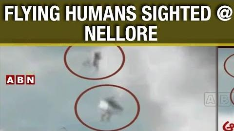 Shocking Video Mysterious Flying Humans in Nellore District ABN Telugu