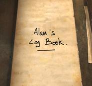 Alan's Log Book
