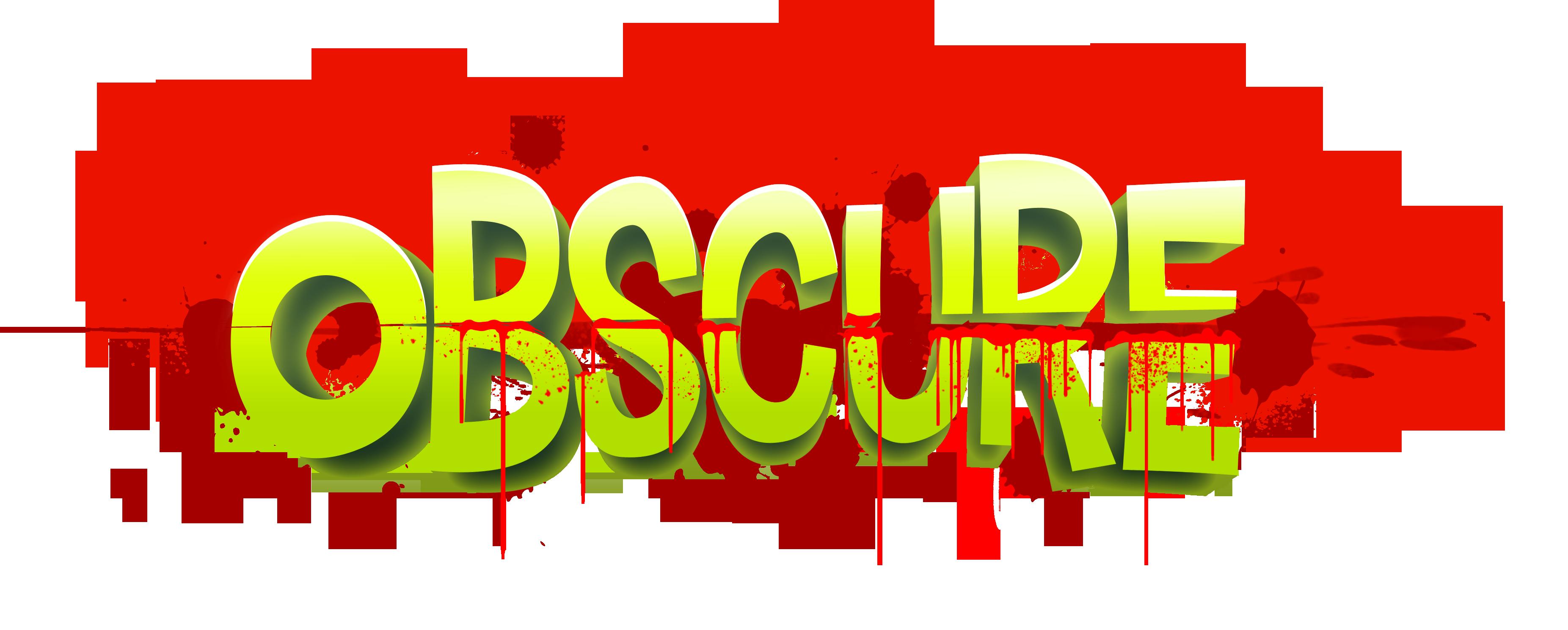 Obscure logo
