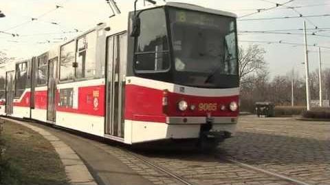 Modernizace tramvaje KT8 společností PRAGOIMEX a.s.