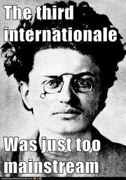 Hipster trotsky