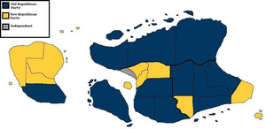 Oceana 2011 Election Map