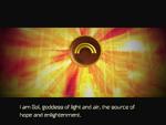 Sol speaks through Emblem of Sun