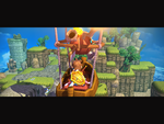 Hero Crashes Into Sky Island