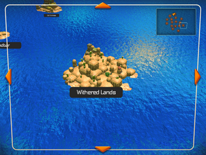 Whithered Lands (World Map)