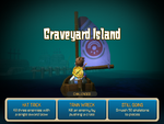 Hero Approaches Graveyard Island