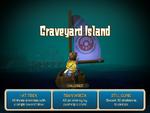 Hero Approaches Graveyard Island
