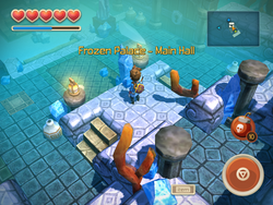 Frozen Palace - Main Hall