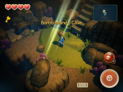 Cave Bomb Island