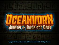 Oceanhorn Title Screen