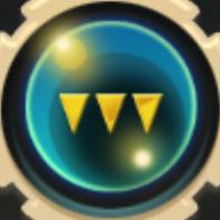 Emblem of Ocean Icon