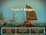 Hero approcahes Island of Whispers