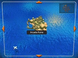 Arcadia Ruins (World Map)
