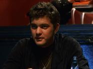 Joshua Jackson playing poker