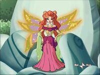 Sibylla on throne