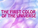 A Primeira Cor do Universo