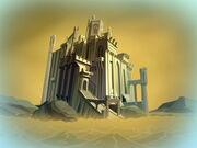 O palácio de Andros