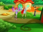 Tecna e Bloom Mini Winx Enchantix