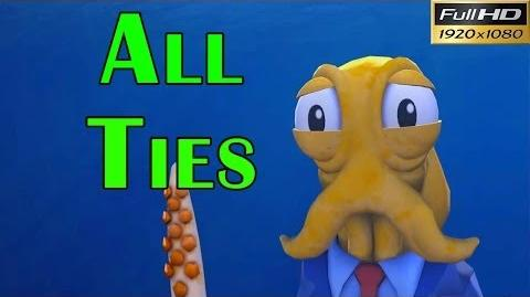 Octodad Dadliest Catch Walkthrough - All Ties And Their Locations Gameplay 1080p