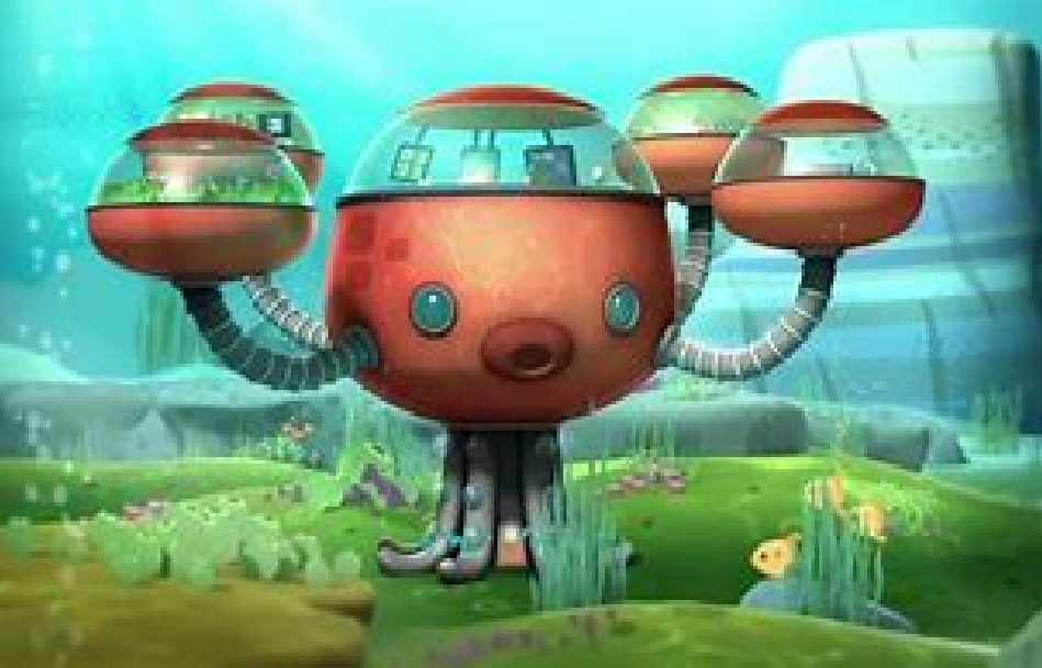 Octopod Octonauts Wiki Fandom Powered By Wikia