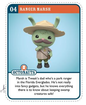 Ranger Marsh Card