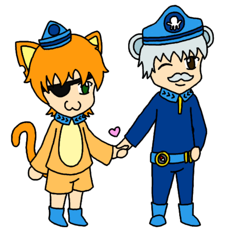 File:Kwazii and Captain Barnacles Holding Hands!.png