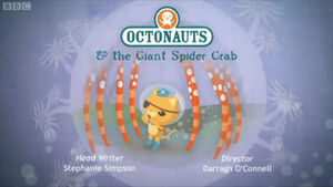 Octonauts spidercrab