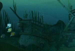 Calico Jack's Sunken Ship