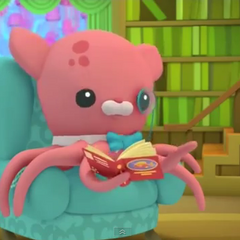 Professor Inkling in Octonauts
