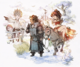 Octopath Traveler x Bravely Default