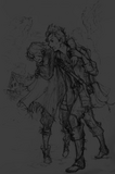 Octopath Novel Therion and Alfyn