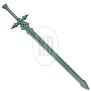 Replica-anime-turquoise-green-sword-5