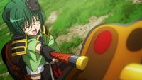 Motoyasu ordering attack