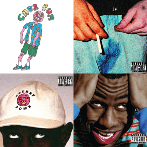 File:Tyler's The Creator's Cherry Bomb - Alternate Covers.png