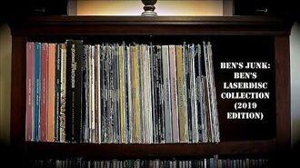 Oddity Archive Episode 176.5 – Ben's Junk Ben's Laserdisc Collection (2019 Edition)