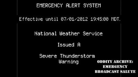 Oddity Archive- Episode 2 – Emergency Broadcast Salute (2016 RE-EDIT)
